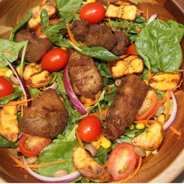 Suya Salad