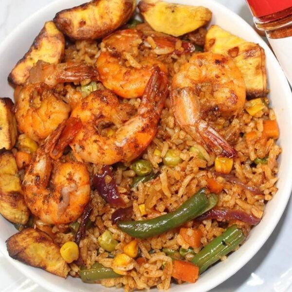 Berbere fried rice