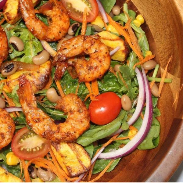 Berbere Shrimp Salad