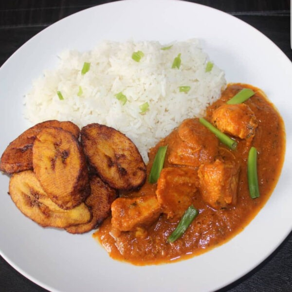 Curry Chicken or Goat